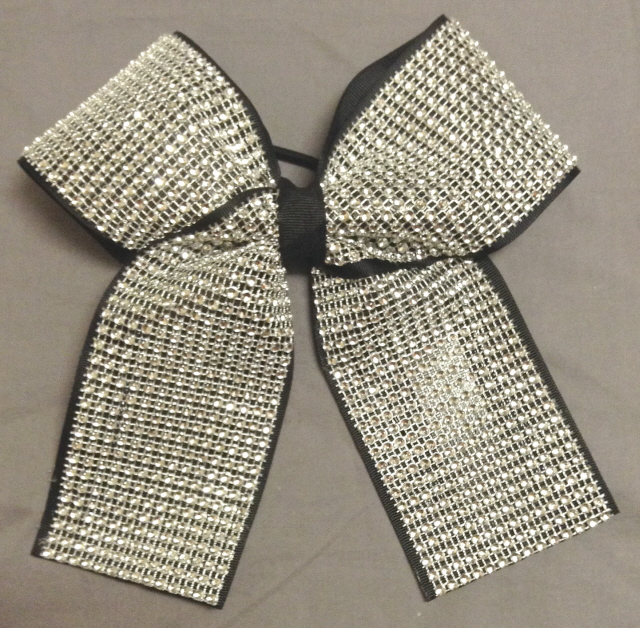 "3"" Diamond Bow - Choose your color"