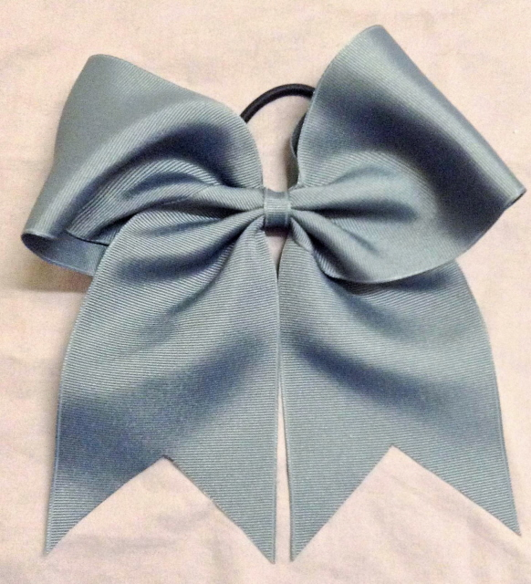 Graphite Gray Solid Bow