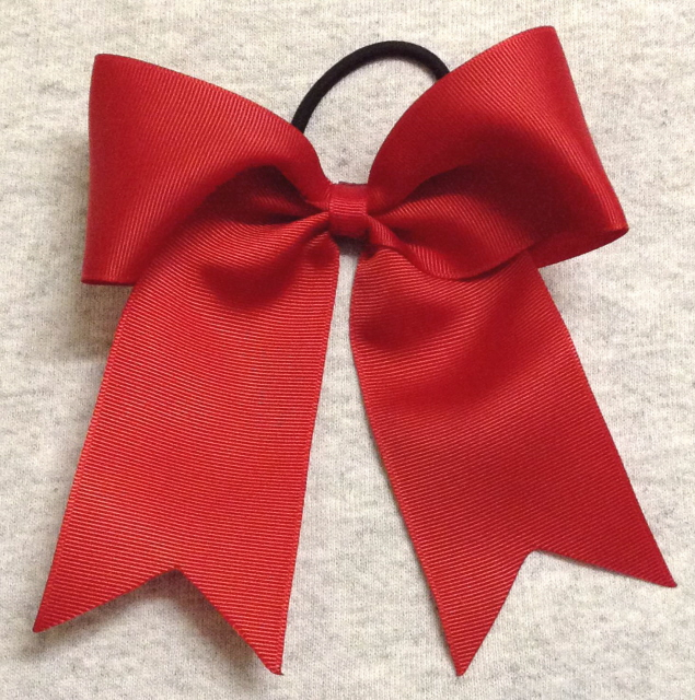 Red Solid Bow
