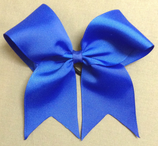 Royal Blue Solid Bow