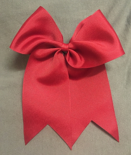 Crimson Solid Bow