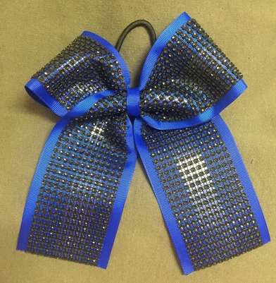 Royal Blue with Black Diamond